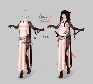 Outfit design - 323 - closed by LotusLumino
