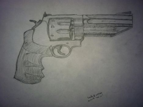 Smith and Wesson Model 627 by loonieboy