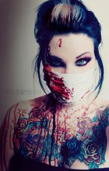 blood is the new fashion by TrishaMonsterr