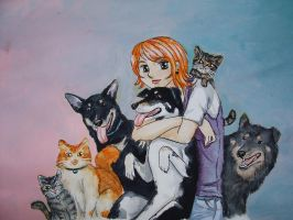 My Animal Family and Me by iloveramen88
