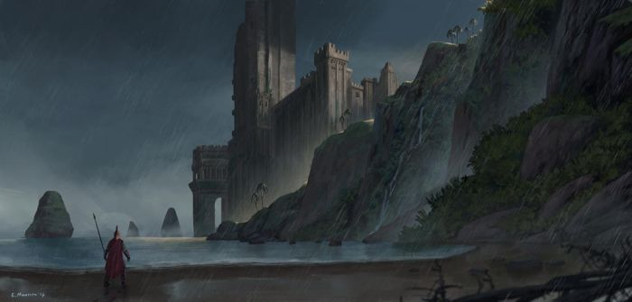 Coast Fortress by N8watcher