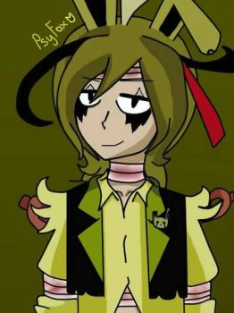 Springtrap Human by Lily07MCtrap