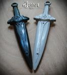 Dragonbone dagger-Skyrim - First cast by ArsynalProps