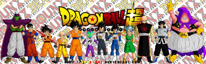 dragon ball super characters concept by DrabounZ