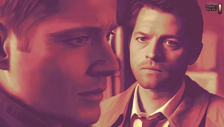 Destiel in Raspberry and Malt by LicieOIC