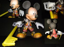 Kingdom Hearts Mickey Angles by TouchFuzzyGetDizzy