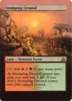 Stomping Ground alter by MimiMunster