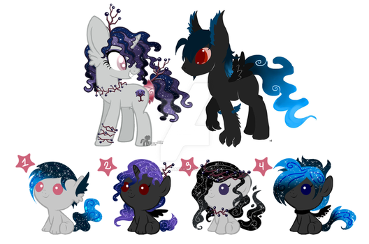 Breedable foals adoptables CLOSED by KingPhantasya