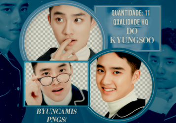 D.O EXO #29 - PNGS by fairyixing