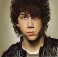 Nick Jonas WIP 3 by Mimitchki