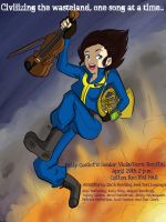 Fallout recital poster by kellycosmonaut