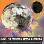 MOON BRUSHES for PS7 v.2 by KeepWaiting