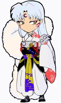 Sesshomaru Chibi in Color by Anomaly55