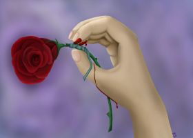 Rose Thorns by RebelInBlue