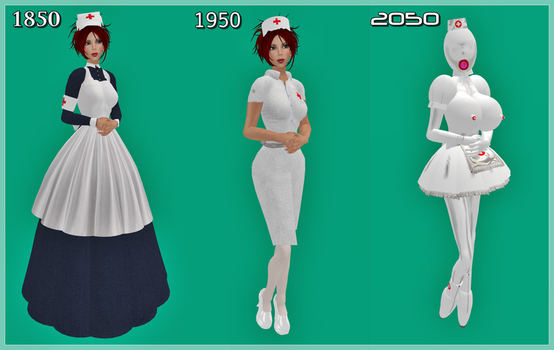 Nurses in History by TessPaige
