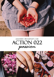 Action 022 - Passion By WowisMel by WowisMel