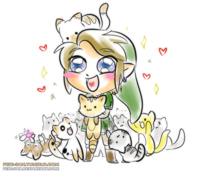 TP LINK LIKES CATS by Ferisae