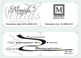 Nereids - Meandros double card by crossbow