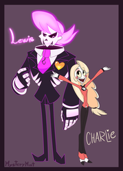 Lewis and Charlie by MysteryMysticMist