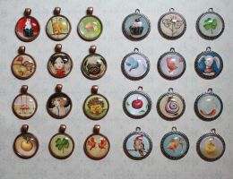 Art Pendants by IreneShpak