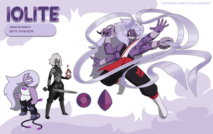 Gem Fusion Iolite by TheGraffitiSoul