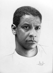 Denzel Washington by valeriafernand