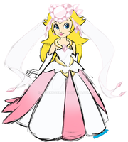 Diancie Inspired Princess Peach outfit