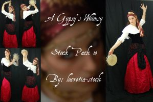 a gypsy's whimsy stock pk 10 by lucretia-stock