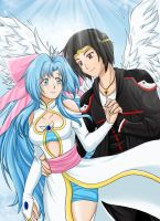 Entry .: Teiris and Omega:. by RikaChan3