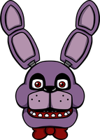 Five Nights at Freddy's Bonnie shirt design by kaizerin