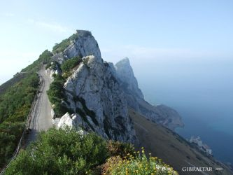 Gibraltar Rock - Coastline by Seraphania