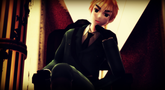 Hetalia MMD - Long Live the King by YuMoriChii