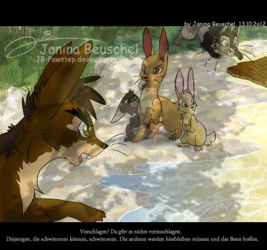 Watership Down -The River by JB-Pawstep