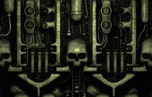 Tribute to HR Giger by CanisLoopus