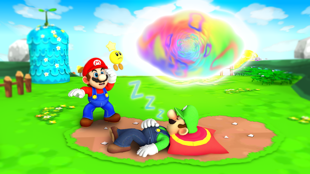Mario and Luigi: Dream Team HD by Fawfulthegreat64