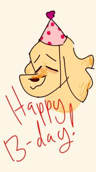 Happy Bork Day Chica!! by power5pro