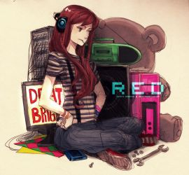 R E D by demitasse-lover