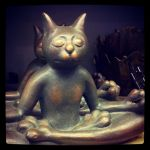 Meditating Cat by MauserGirl
