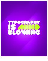 Typography Is Mind Blowing by GRlMGOR