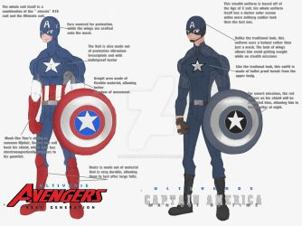 Ultiverse Captain America redesign by FakeRobin99