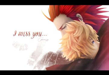 KH : I miss you by MicehellWDomination