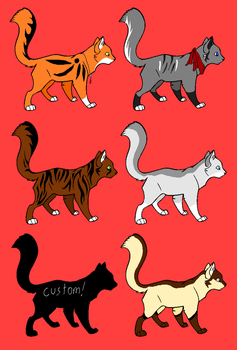 10 point Cat Adopts - OPEN by TheAdoptArtist
