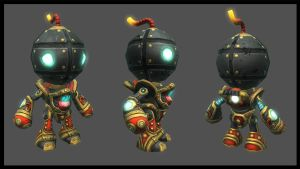 boombaby lowpoly by overmind81