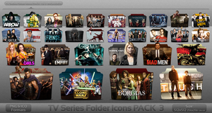 Pack 3 - TV Series Folder Icons by atty12