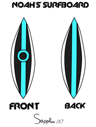 Noah's Surfboard Reference by Sapphire1X7