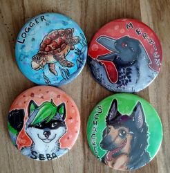 East buttons Part 2 by Ariade