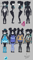 Pandora Reference Sheet by Saria48
