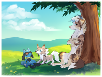 [CM] Under a tree by Mistrel-Fox