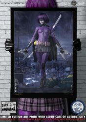 Hit-Girl, Kick-Ass 'Dark City' Series by PaulSuttonArt