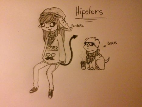 Hipsters by Rainbow104810
